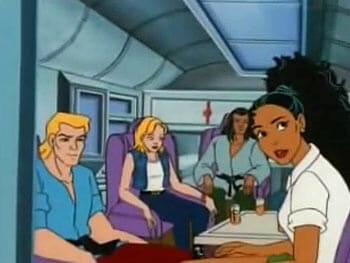 Bolt, Ali, Hawk, and Shonti