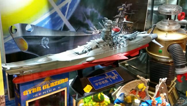 Space Battleship Yamato model