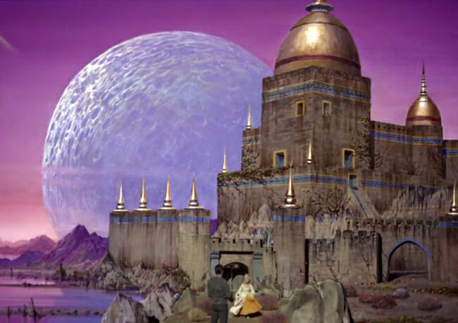 Rigel VII castle painting