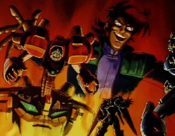 Kyoji and the Devil Gundam
