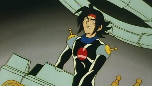 Domon in God Gundam cockpit