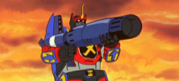 GoShogun with bazooka