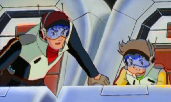 Shingo training Kenta in cockpit