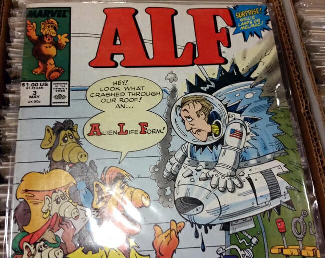 ALF comic