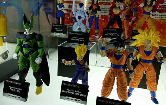 More Dragon Ball figures