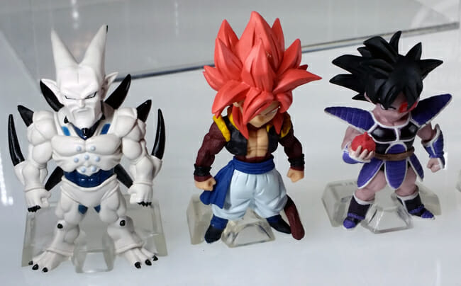 """Chibi"" Dragon Ball figures"