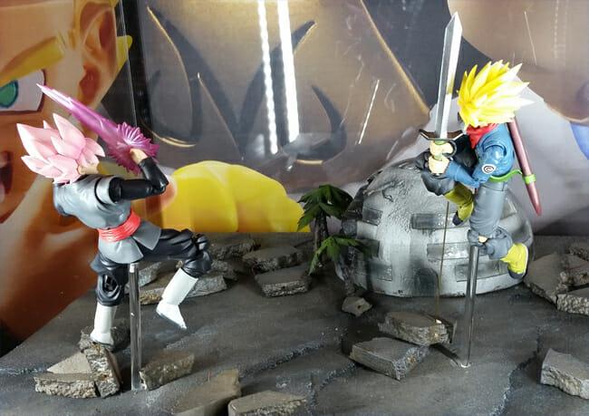 Goku Black vs. Trunks