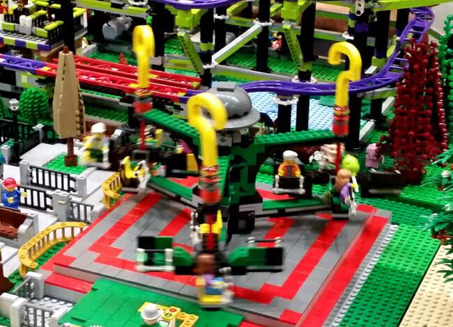 LEGO city carousel