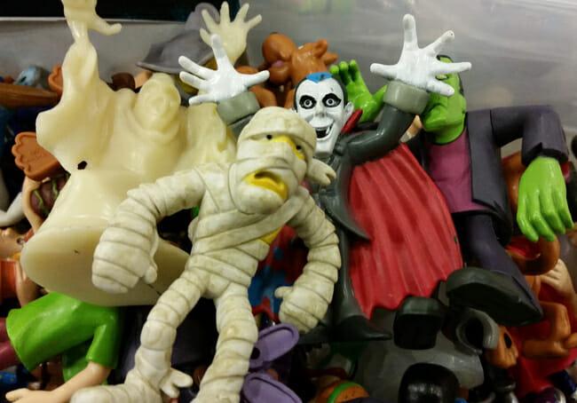 Scooby-Doo monsters