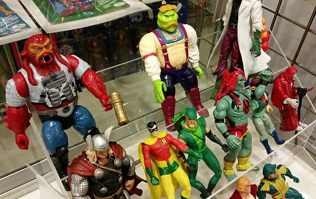 Toy group: Thor, Robin, ThunderCats