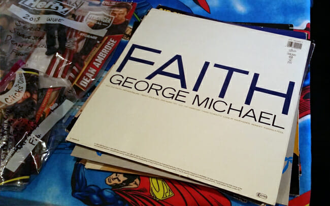 Faith record by George Michael