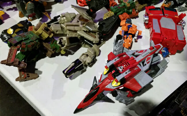 Transformers table