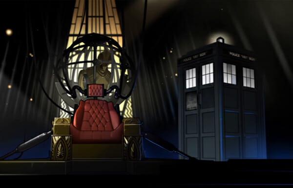 TARDIS on Baltazar's ship