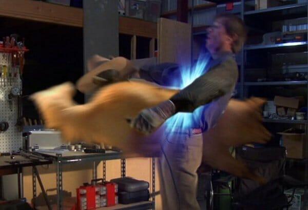 Marlowe passing through Clint
