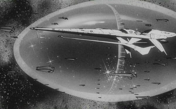Fleet with giant egg - Buster Machine III