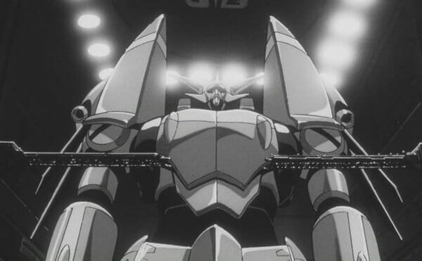 Gunbuster ready to launch