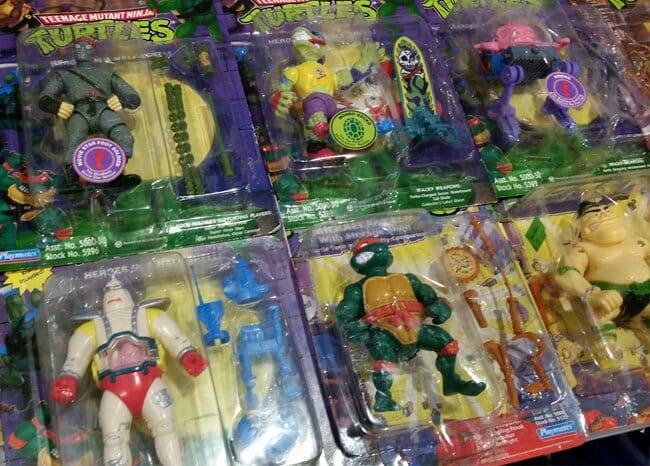 Ninja Turtles MIB figures