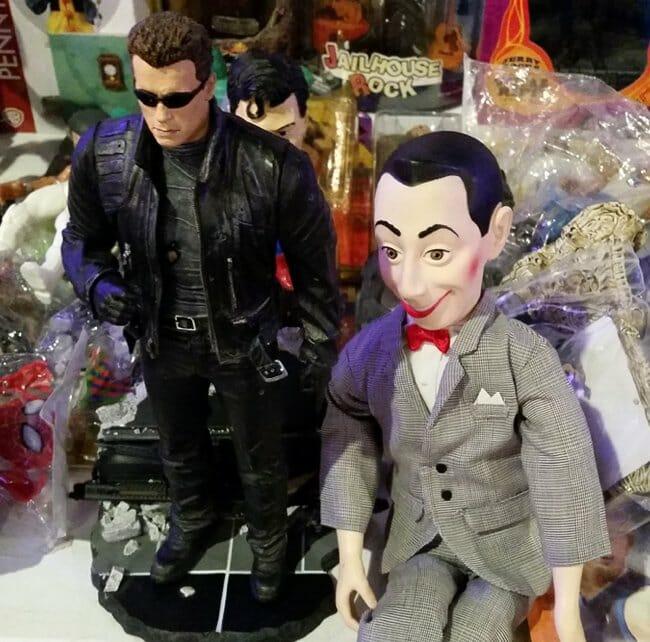 Terminator and Pee-wee