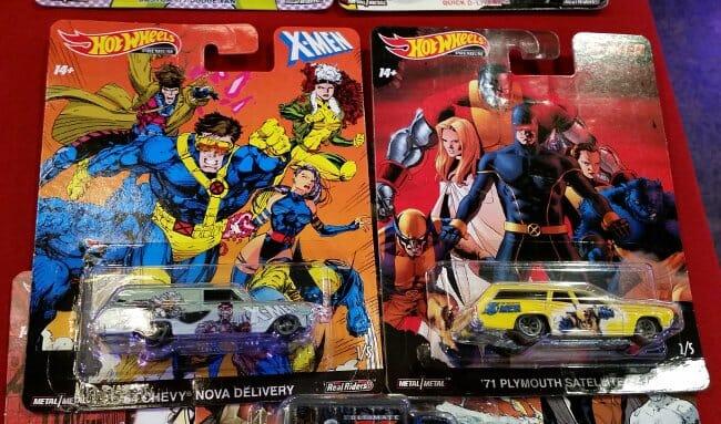 X-Men cars MIB