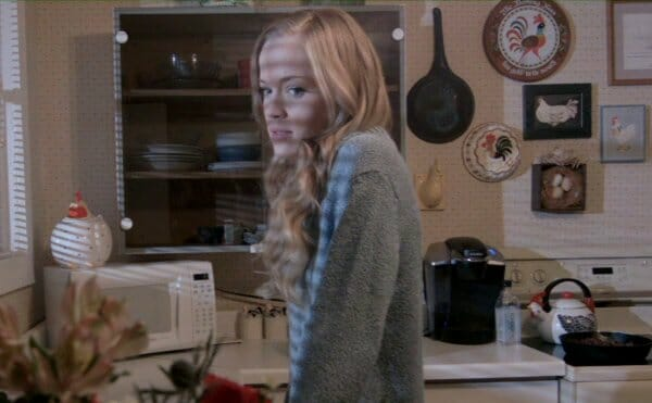 Emma in the kitchen