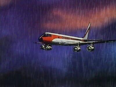 Gatchaman Episode 3: airplane
