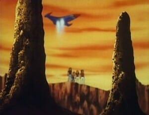 Gatchaman Episode 10 Galactor's base